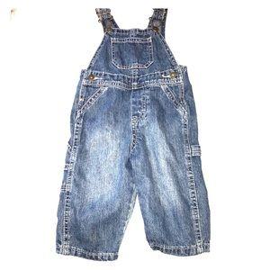 Wrangler Baby denim overalls 6-9 months